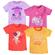 Яркая футболка Bossa Nova с принтом для девочки